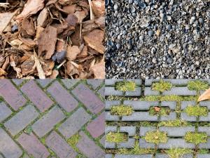 Porous paving materials