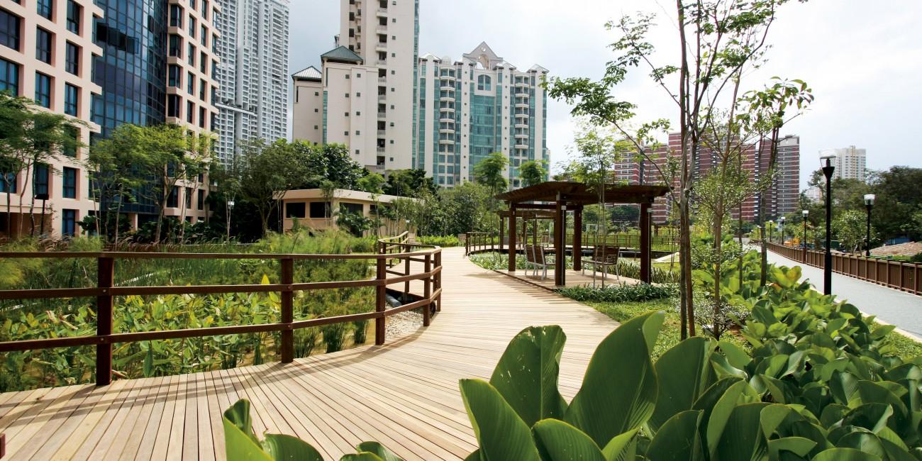 Singapore urban green blue grids for Design agency singapore