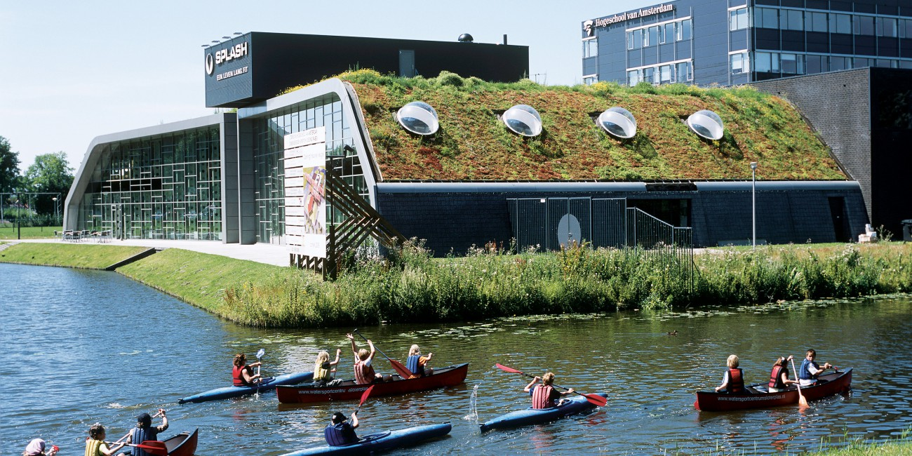 Sloping Green Roofs Urban Green Blue Grids