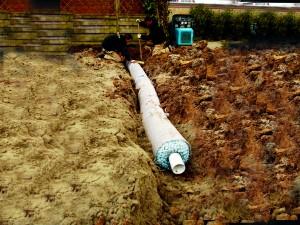 Grindkoffers en Omgekeerde drainage / IT-riool