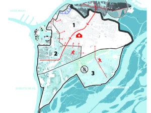 Compartimenteren op stedelijke schaal