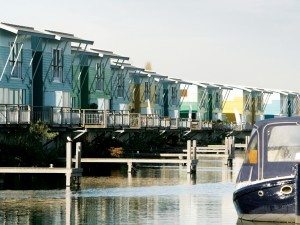 Amphibious homes, Maasbommel, The Netherlands
