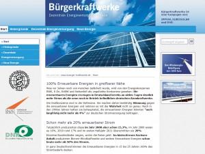 Bürgerkraftwerke, Duitsland
