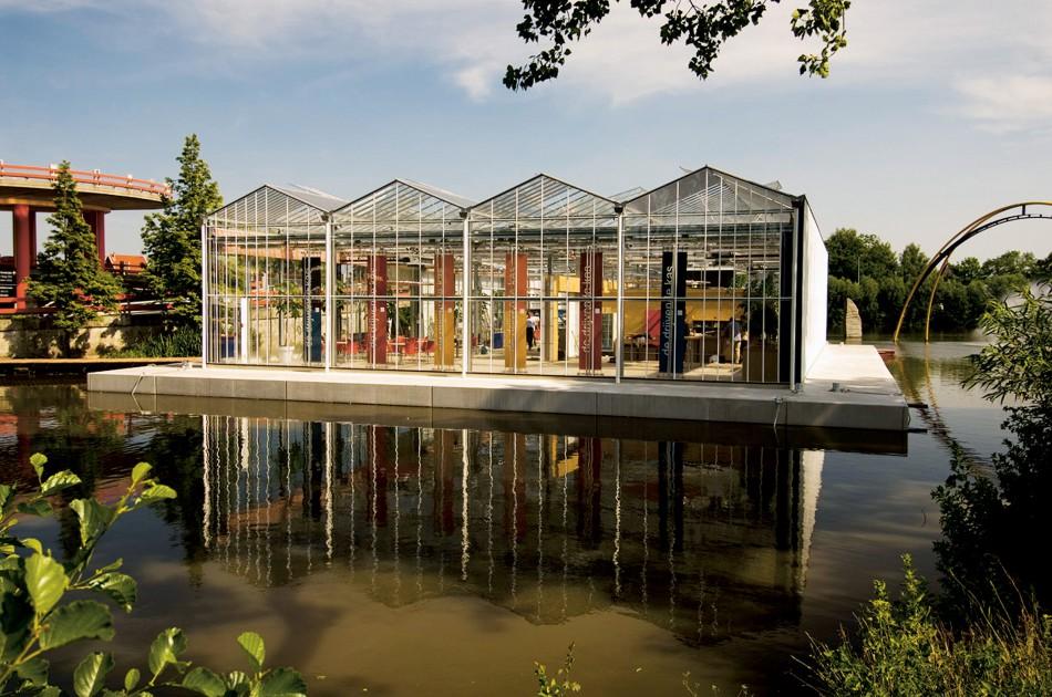 Floating Greenhouse Naaldwijk The Netherlands Urban