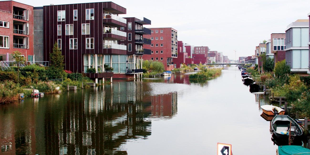 Kết quả hình ảnh cho Quận nhà nổi ở Amsterdam