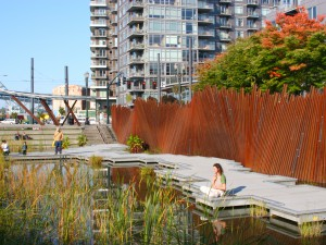 Tanner Springs Park, Portland, Oregon, US