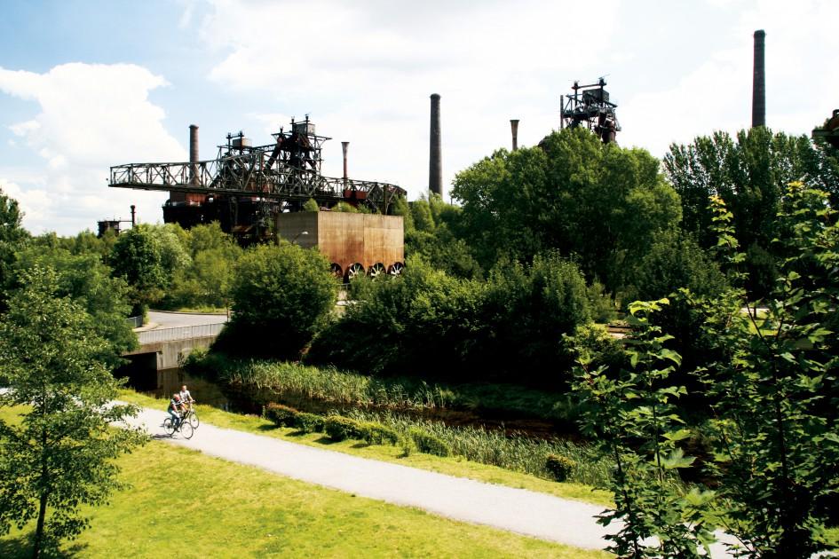 Landscape Park Duisburg Nord Urban Green Blue Grids