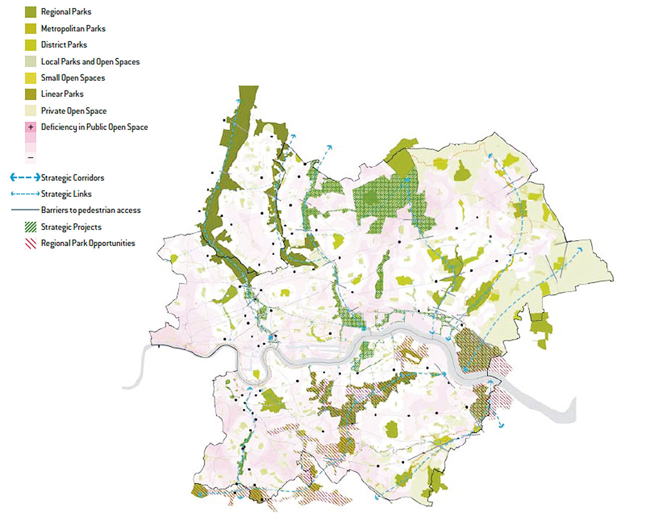 Green and blue the basis for a circular city | Urban green-blue grids