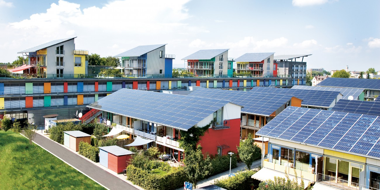 Solar Energy Urban Green Blue Grids