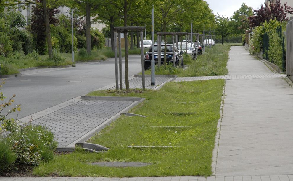 Urban Infiltration Strips Urban Green Blue Grids