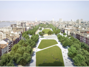 Zuiderdokken – Pilot project for climate adaption in Antwerpen city centre